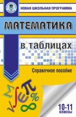 Математика в таблицах. 10-11кл