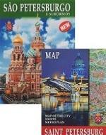 Sao Petersburgo e suburbios (+ карта)