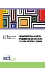 Конкурентоспособность предприятий сферы услуг: теория и методика оценки. Монография