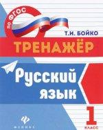 Русский язык: 1 класс дп