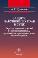 Защита нарушенных прав в суде: образцы заявлений и жалоб по административным, гражданским и уголовным делам с комментариями