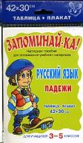 Русский Язык. Падежи. 3-5 кл. Запоминай-ка!