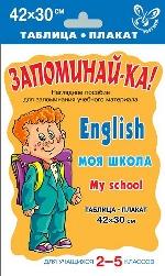 Английский. Моя школа. Для уч-ся 2-5кл