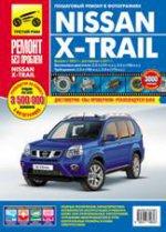 Nissan X-Trail с 2007г. 2011г, цв