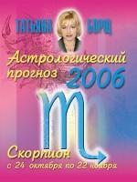 Астрологический прогноз на 2007 год. Скорпион