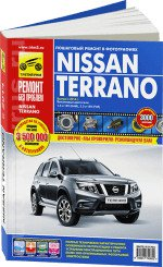 Nissan Terrano. Вып. с 2014г. цв