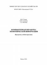 Компьютерная обработка экономической информации