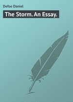 The Storm. An Essay