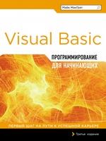 Visual Basic. Программирование для начинающих