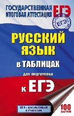 ЕГЭ Русский язык 10-11кл [в таблицах]