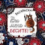 Александр Моисеевич Винокуров. Вы меня бесите! Раскраска-антистресс для взрослых 150x150