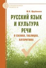 Русский язык и культура речи в схемах, таблицах, алгоритмах: Справочное пособие Ю.В. Щербинина