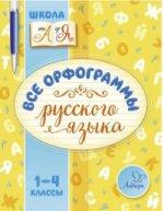 Все орфограммы русского языка 1-4кл