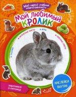 Мой любимый кролик. + наклейки внутри.  Мой первый учебник ответственности