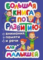 Ольга Владимировна Александрова. Большая книга по развитию внимания, памяти и речи для малышей