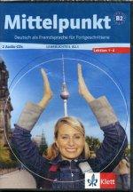 CD. Mittelpunkt B2. Lehrbuchteil. Lektion 1-6 (2 Audio-CDs)