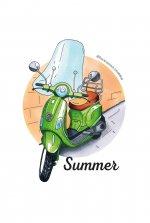 Блокнот Summer. Скетчи Лизы Красновой