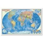 Политическая карта мира. Настенная