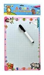 Доска для рисования с маркером