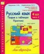 Русский язык. 4 класс. Теория в таблицах. Практика. Часть 2