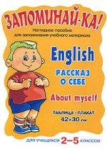 Английский. Рассказ о себе. Для уч-ся 2-5кл