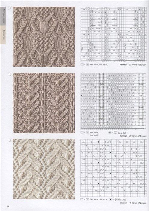 книга большая книга японских узоров 260 необычных схем для вязания