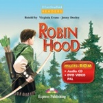 Robin Hood. DVD-ROM. PAL (DVD Case). (Illustrated). DVD-ROM диск
