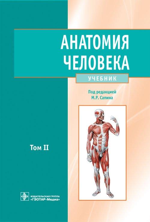 Анатомия человека: учебник. Том второй
