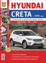 Hyundai Creta с 2016 года. С бензиновыми двигателями. Руководство по ремонту и техническому обслуживанию