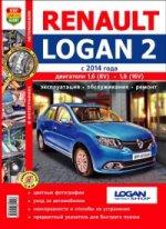 Renault Logan 2 с 2014 г. Эксплуатация, обслуживание, ремонт. Практическое пособие