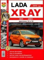 Lada Xray c 2016 бензин. Руководство по ремонту и эксплуатации