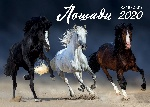 Лошади. Календарь настенный на 2020 год (315х440 мм)
