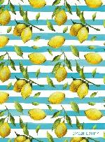 Лимоны. Ежедневник недатированный на кольцах