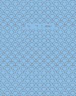 Bullet Journal (Голубой) 162x210мм, твердая обложка, пружина, блокнот в точку, 120 стр