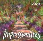 Импрессионисты. Календарь настенный на 2020 год (170х170 мм)