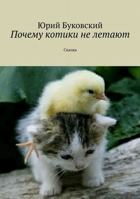 Почему котики нелетают. Сказка