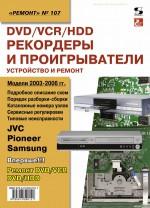 DVD/VCR/HDD-рекордеры и проигрыватели. Устройство и ремонт
