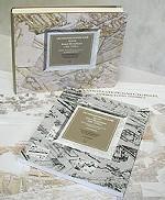 Аксонометрический план Санкт-Петербурга 1765-1773 гг. с приложением и схемами 150x182