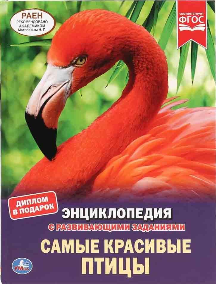 Самые красивые птицы. Энциклопедия с развивающими заданиями