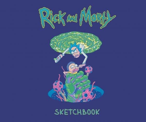 Rick and Morty. Скетчбук