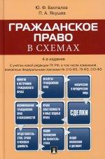 Беспалов, Якушев: Гражданское право в схемах. Учебное пособие