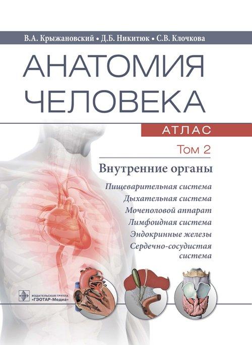 Анатомия человека. Атлас. Том второй. Внутренние органы