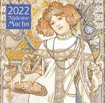 Альфонс Муха. Календарь настенный на 2022 год (300х300 мм)