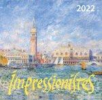 Импрессионисты. Календарь настенный на 2022 год (170х170 мм)