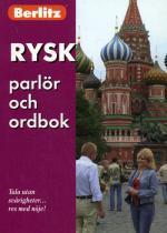 Русский разговорник и словарь для говорящих по-шведски. Rysk parlor och ordbok. Berlitz