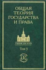 Общая теория государства и права. Академический курс. Том 3