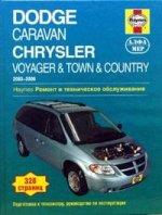 Dodge Caravan/Voyager/Chrysler Town&Country 03-06г. Ремонт и техническое обслуживание