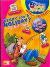 Скачать Ready for a Holiday    Веселый отдых. Учим английский с героями Диснея. Книжка с наклейками бесплатно
