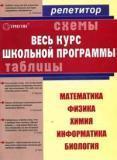 Весь курс школьной программы в схемах и таблицах. Математика, физика, химия, информатика, биология