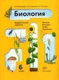 Биология. Растения, бактерии, грибы, лишайники. 6 класс. Дидактические карточки